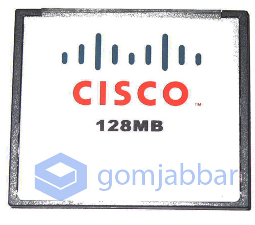 Compact Flash Card From A Cisco ASA 5505