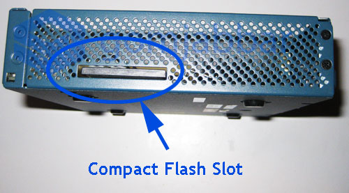Compact Flash Slot on the Cisco ASA 5505